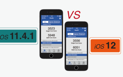 【 iOS 11.4.1 v.s. 12 】要更新嗎? 更新後省電及效能實測