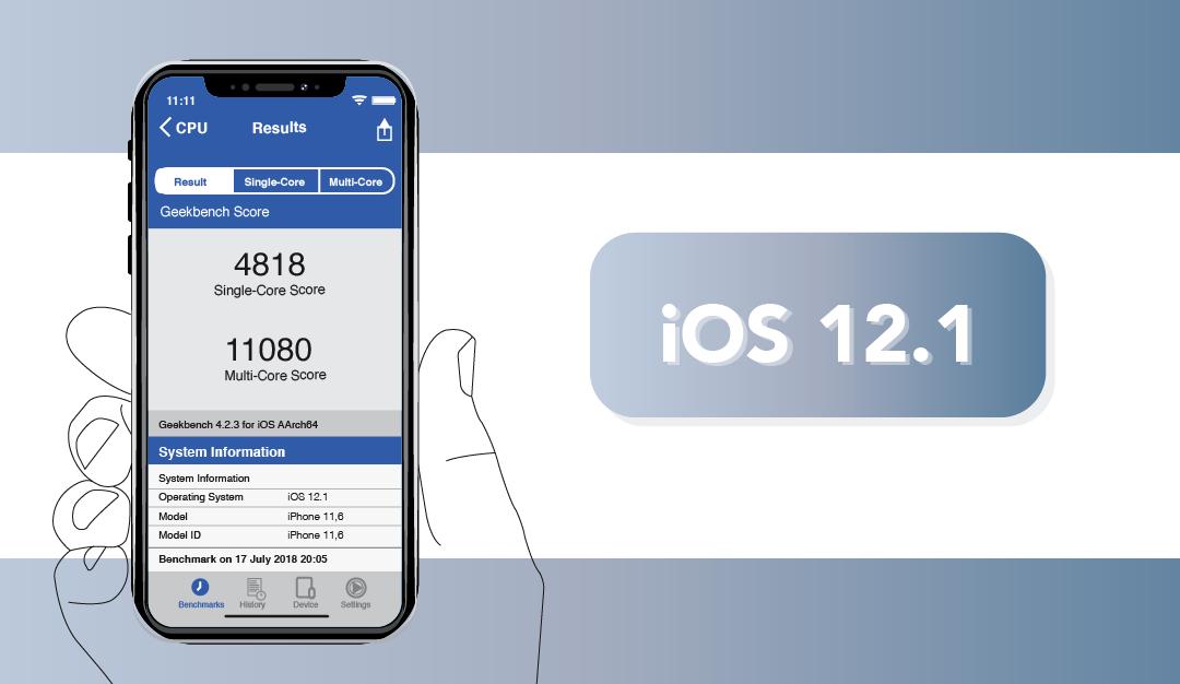 【iOS 12.1 釋出】更新功能介紹及效能實測